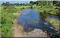 J1345 : The low River Bann, Banbridge by Albert Bridge