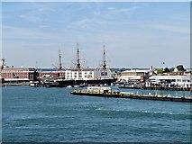 SZ6299 : Portsmouth Harbour by David Dixon