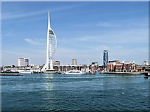 SZ6299 : Portsmouth Harbour, Spinnaker Tower by David Dixon