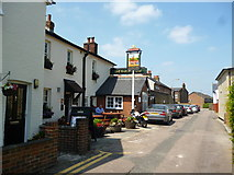 TQ2160 : Epsom:  The 'Barley Mow' by Dr Neil Clifton