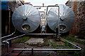 NR7220 : Holding Tanks at Glen Scotia Distillery by Steve Partridge