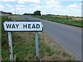 TL4883 : Southern approach to Way Head by Richard Humphrey