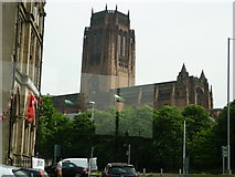 SJ3589 : Anglican Cathedral by Carroll Pierce
