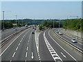 TQ0284 : M25/M40 junction by Robin Webster