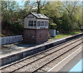 SO0561 : Museum in a former signalbox at Llandrindod Wells railway station by Jaggery