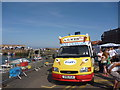 NT6879 : Dunbar Lifeboat Day 2013 ; Ice-cream Van At Victoria Harbour by Richard West