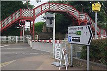 SK8508 : Level crossing in Oakham by Stephen McKay