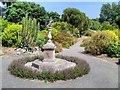 SZ5476 : Sundial, Ventnor Botanic Garden by David Dixon