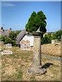 SZ5281 : Sundial, Godshill Churchyard by David Dixon