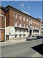SZ5089 : County Hall, Newport High Street by David Dixon