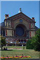 TQ2989 : South front, Alexandra Palace by Julian Osley