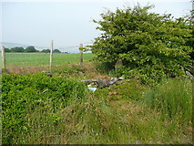 SE0125 : Morley water main marker, Stake Lane by Humphrey Bolton