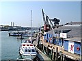SZ5095 : Quayside at Cowes by David Dixon
