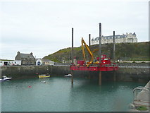 NW9954 : Portpatrick Harbour by Humphrey Bolton