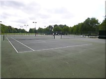 SU4828 : Winchester, Kingsgate Tennis Club by Mike Faherty