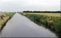 TF3516 : South Holland Main Drain from Coy Bridge by J.Hannan-Briggs