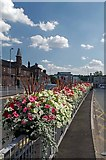 SJ8545 : Blooming Bus Station by Glyn Baker