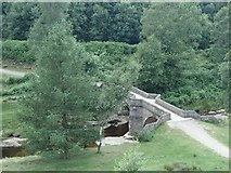 SK1695 : Bridge at Slippery Stones by Andrew Hill