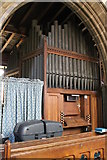 SK9324 : Organ, St John the Baptist church, Colsterworth by J.Hannan-Briggs