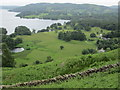 NY3603 : Windermere (north basin) and Latterbarrow from Todd Crag by Peter S