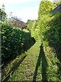 SZ0895 : Redhill: footpath O09 to Georgian Way by Chris Downer