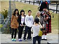 NH3709 : Japanese tourists, Fort Augustus by Kenneth  Allen