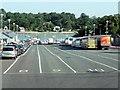 SZ5592 : Fishbourne Car Ferry Terminal by David Dixon