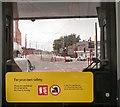 SJ9098 : Inside a Metrolink tram at Droylsden by Gerald England