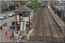 SK8508 : Oakham Station by Stephen McKay