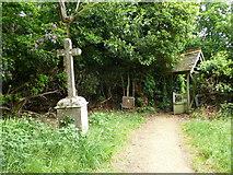 SU1012 : St James, Alderholt: churchyard (5) by Basher Eyre