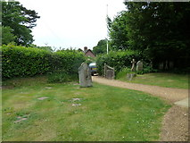 SU1012 : St James, Alderholt: churchyard (10) by Basher Eyre