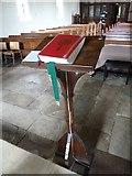 SU1012 : St James, Alderholt: lectern by Basher Eyre