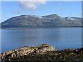 NN0158 : Loch Linnhe and rocky shore at Kentallen by Trevor Littlewood