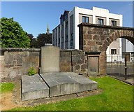 NS2776 : Burial place of Gabriel Wood by Lairich Rig