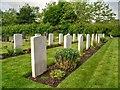 SP2665 : Commonwealth War Graves, Warwick Cemetery by David Dixon