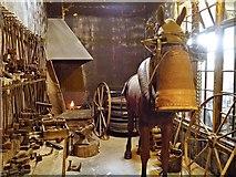 SP3379 : Blacksmiths, Coventry Transport Museum by David Dixon