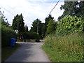 TM3282 : Wheelbarrow Lane, St.Nicholas South Elmham by Adrian Cable
