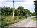 TM3083 : Hall Lane, St.Cross South Elmham by Adrian Cable