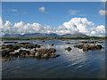 L8938 : High tide rocks by Jonathan Wilkins