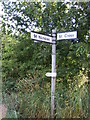 TM3182 : Roadsign on Mill Lane by Adrian Cable