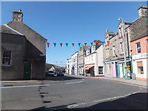 NT4728 : Junction of Tower Street and High Street, Selkirk by Barbara Carr