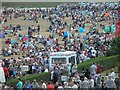 TA3108 : Even more people on the beach watching day 2 of Cleethorpes airshow by Steve  Fareham