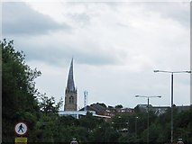SK3871 : Chesterfield crooked spire by Alex McGregor
