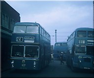 SP0198 : Buses in Walsall Bus Station by David Hillas
