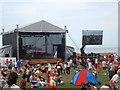 NZ4059 : Cliffe Park stage, Sunderland International Airshow by Graham Robson