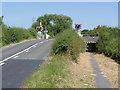 SK2928 : Etwall Road level crossing by Alan Murray-Rust