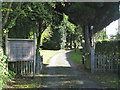 SP0867 : Gateway, Church of the Holy Ascension, Mappleborough Green by Robin Stott