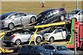 J3775 : Hire cars, Belfast by Albert Bridge