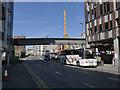 SK5739 : Queen's Road bus stop by Alan Murray-Rust