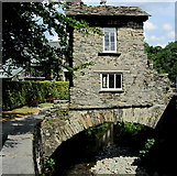 NY3704 : Bridge House, Ambleside by Chris Heaton